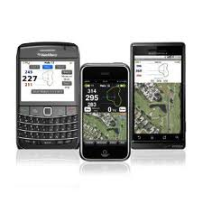 Golf GPS range finder apps are common these days