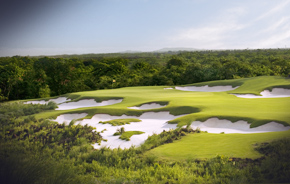 Mission Hills, China, is the world's biggest golf club