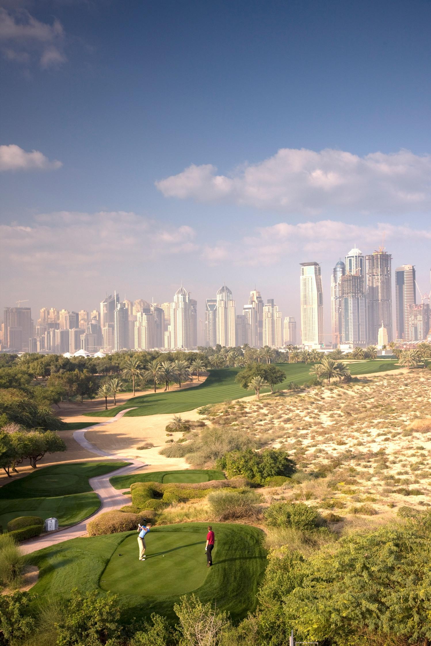 Emirates Golf Club 25th anniversary
