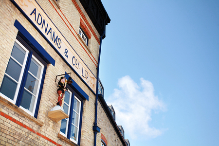 Adnam's Brewery Tours are one of the best tourist attractions in Suffolk