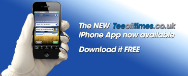 Book a golf tee-time 24/7 with new iPhone app
