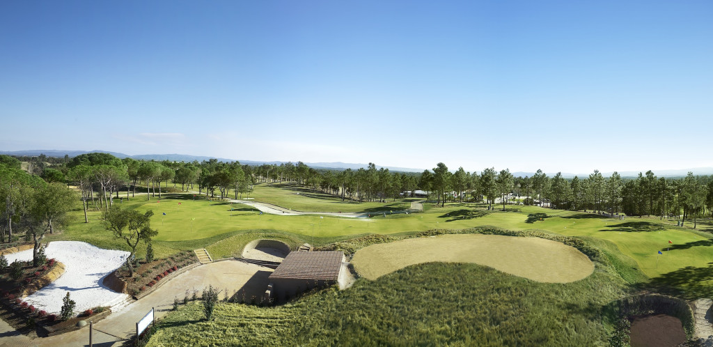 practice facilities at PGA Golf de Catalunya