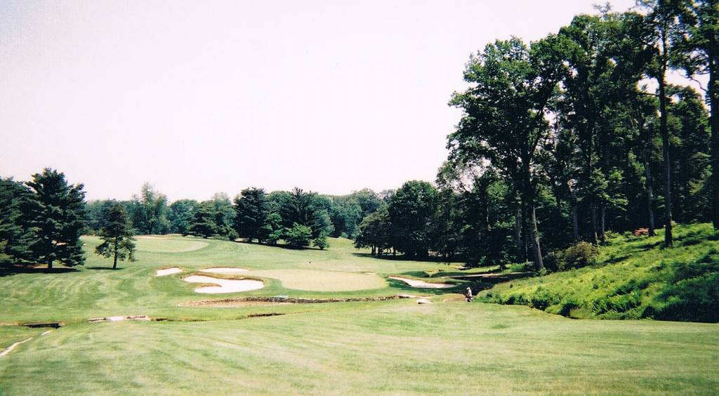 9th hole at Merion Golf Club