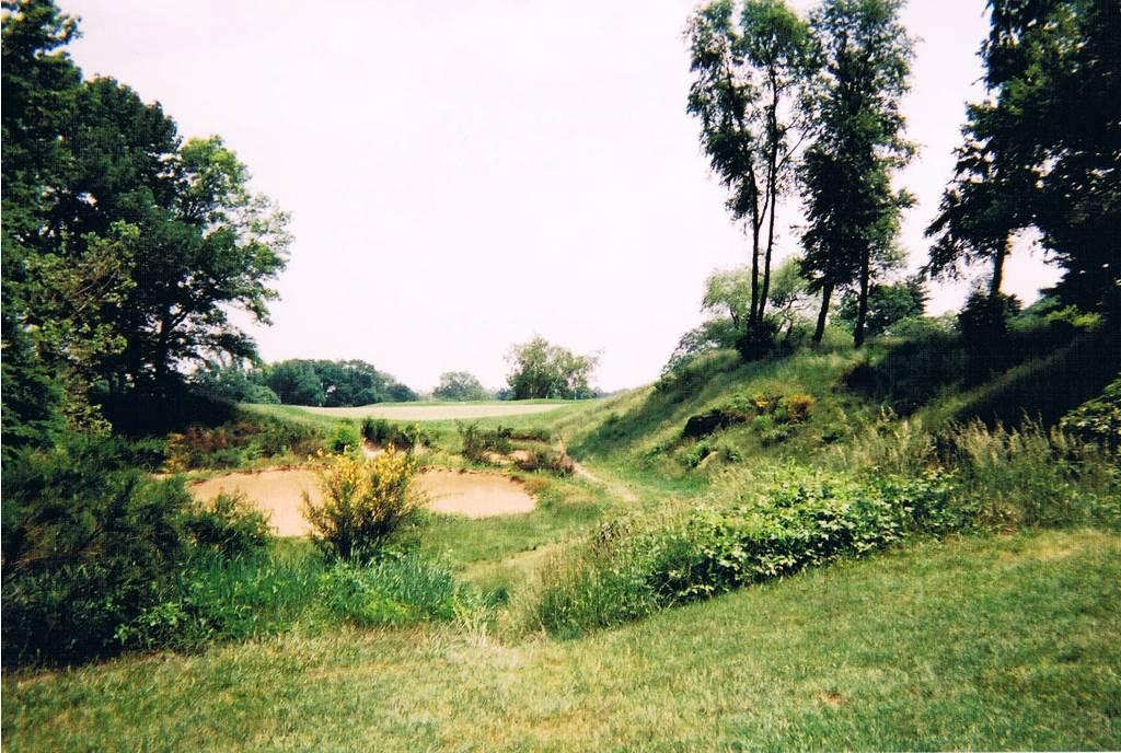 16th green at Merion Golf Club
