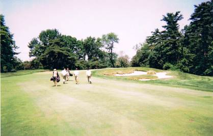 Hole 14 at Merion Golf Club