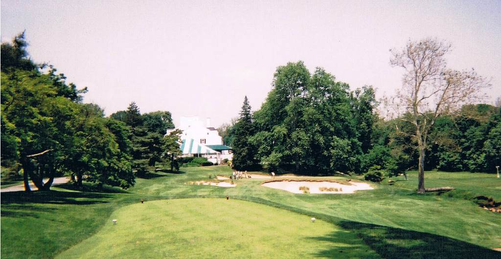 13th green at Merion Golf Club