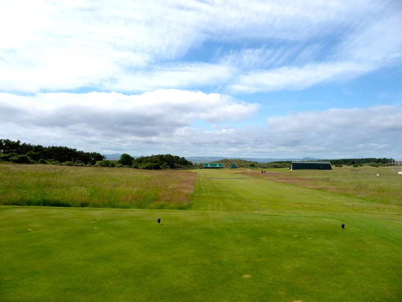 rough at Muirfield for Open 2013