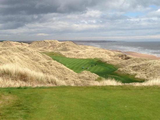 Donald Trump Golf course Scotland