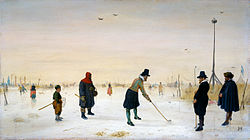Kolf in Holland - Hendrick Avercamp - credit Wikipedia