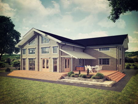 Luxury lodges for families and golf groups at Celtic Manor