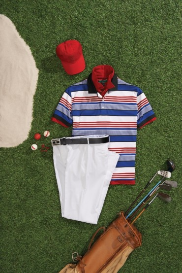 Tommy Hilfiger 2014 golf clothes inspired by iconic American golf destinations