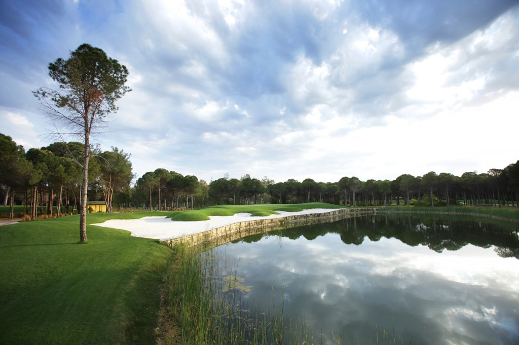 Montgomerie Maxx golf course Belek Turkey