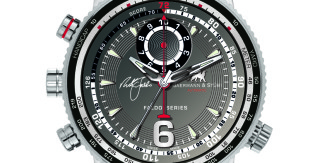 Golf Bling: Swiss watch forged from Faldo irons