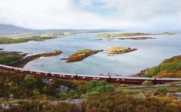 Luxury golf tours on the Royal Scotsman