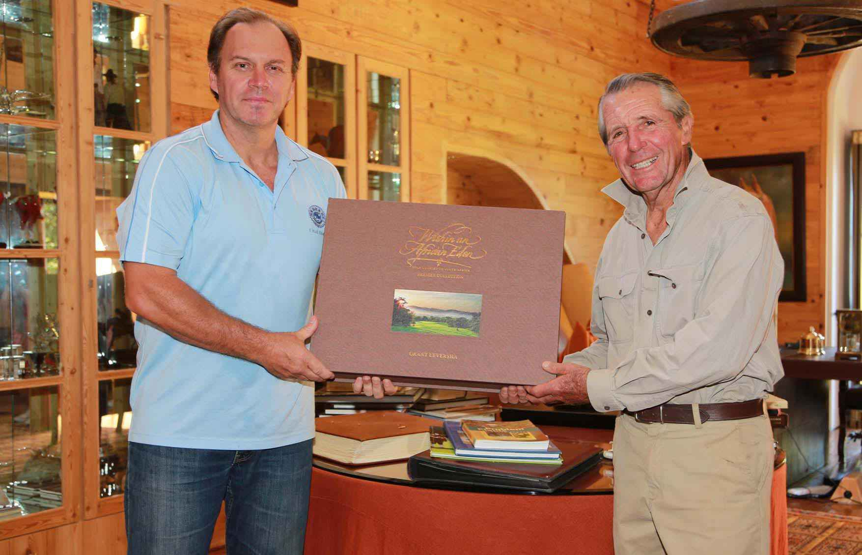 South African golf courses captured in rare book