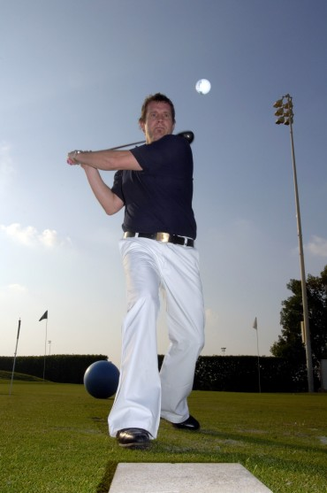 World's Trickiest Golfer tees off new UK Golf Festival