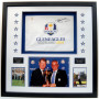 Rare Paul McGinley and Tom Watson 2014 Ryder Cup Memorabilia