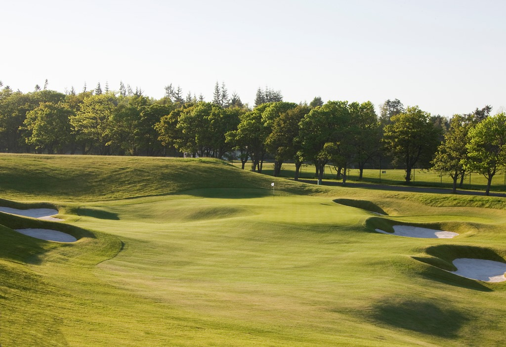 The PGA Centenary Course - 18th holeweb