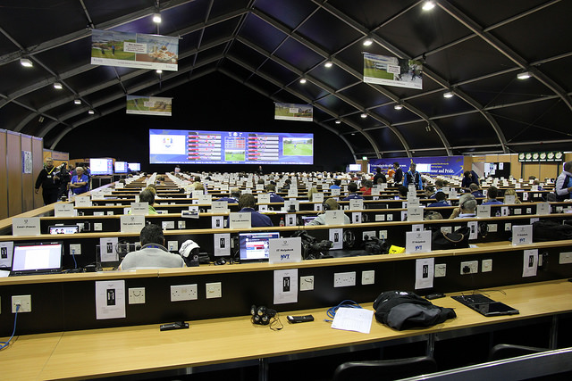 Media Tent at 2014 Ryder Cup