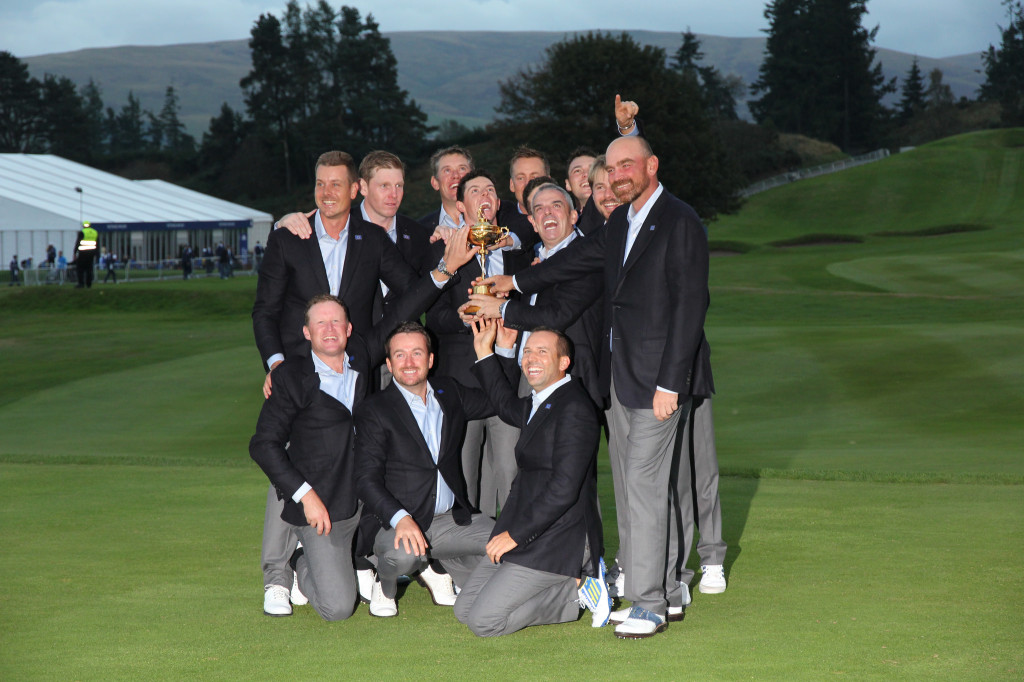 Ryder Cup 2014 team celebrations