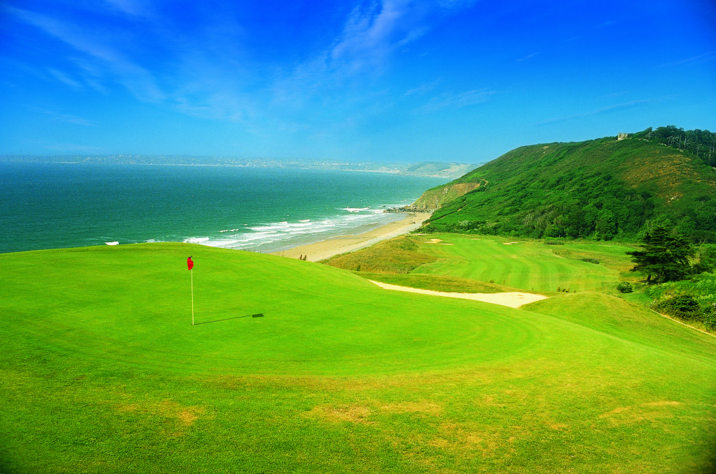Golf course French Coast