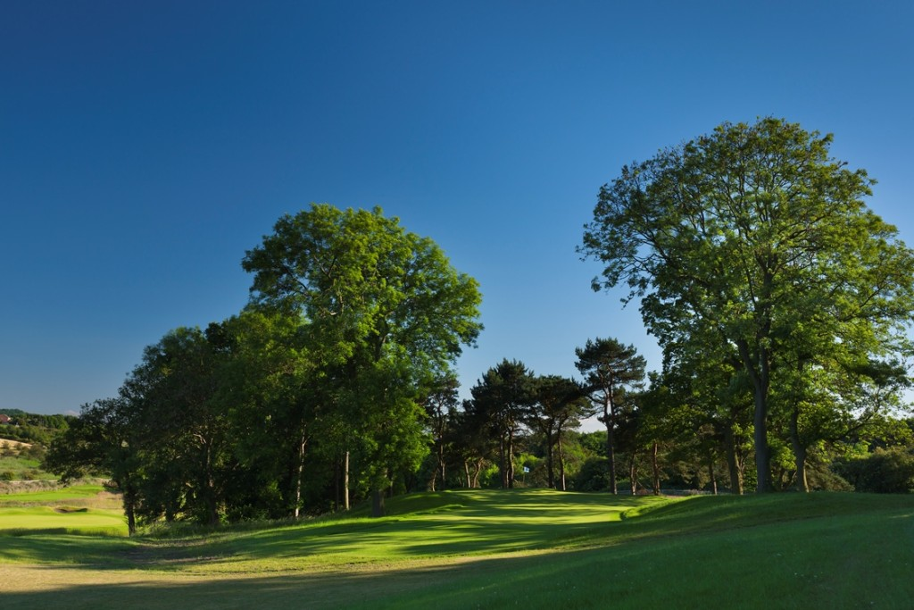 The signature 14th hole at the new Ramside Cathedral Course