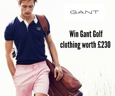 Win GANT golf clothing worth £230