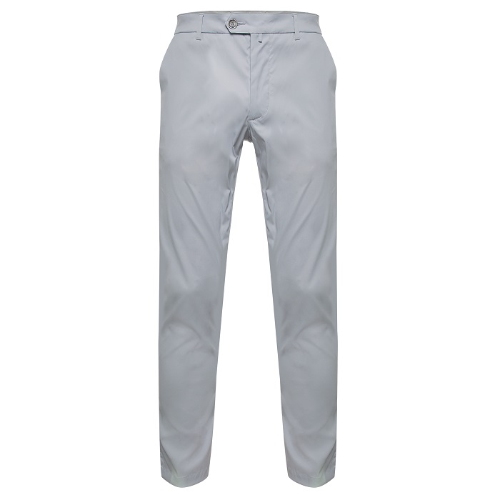 Grey golf trousers by Colmar
