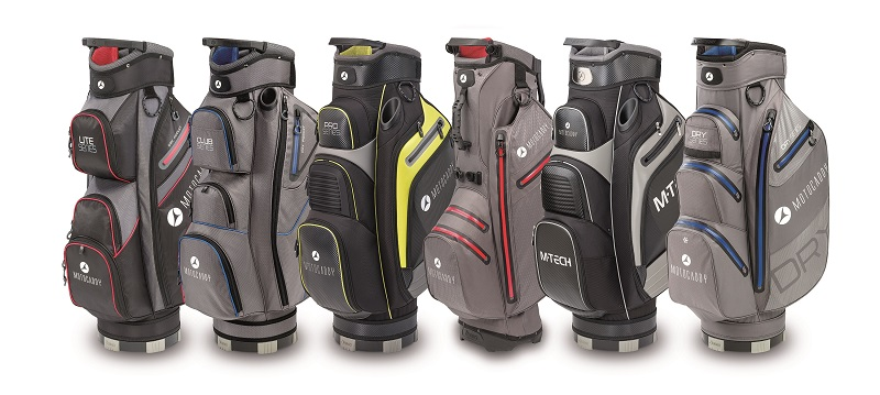 Motocaddy bag range for 2020