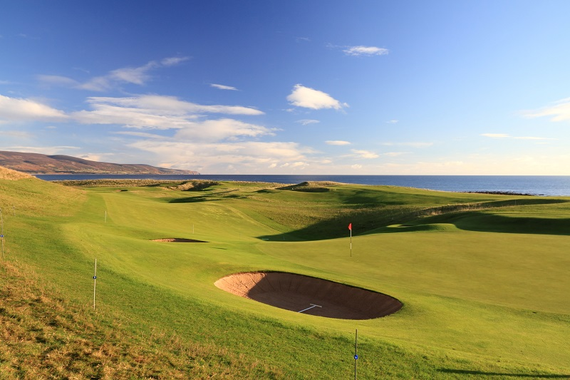 Brora Golf Club in the Highlands of Scotland is a James Braid classic