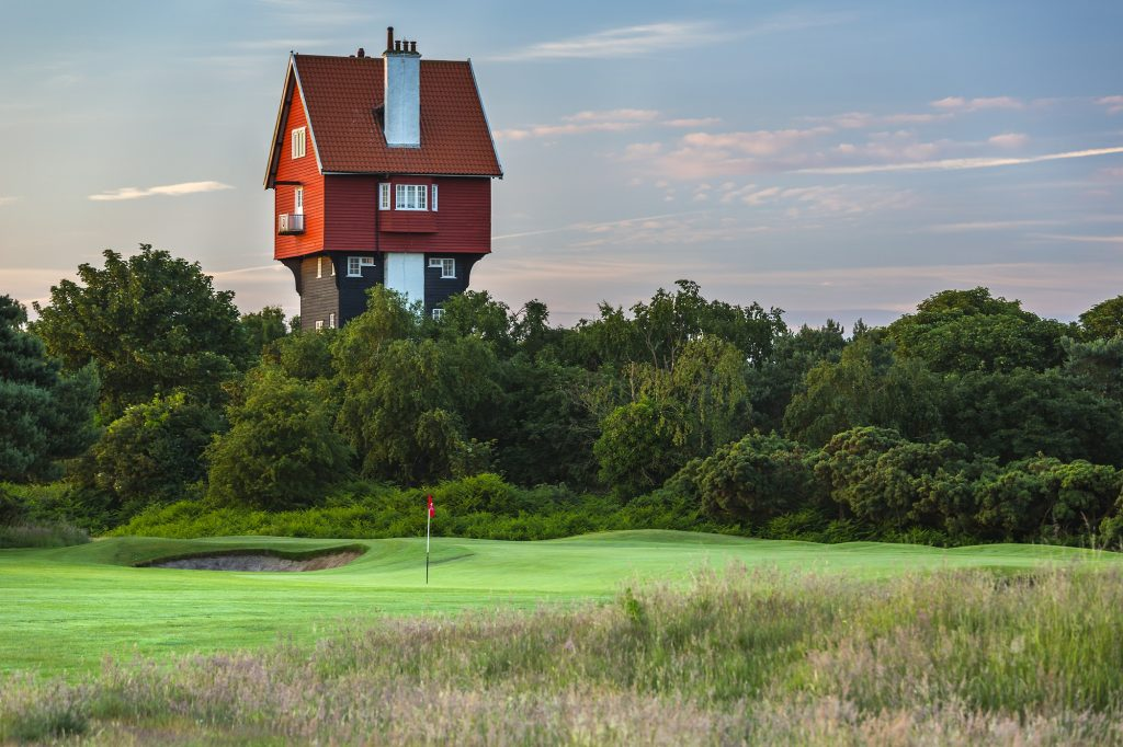 Thorpeness Golf Club, Suffolk - a coastal heathland designed by James Braid and opened 1923