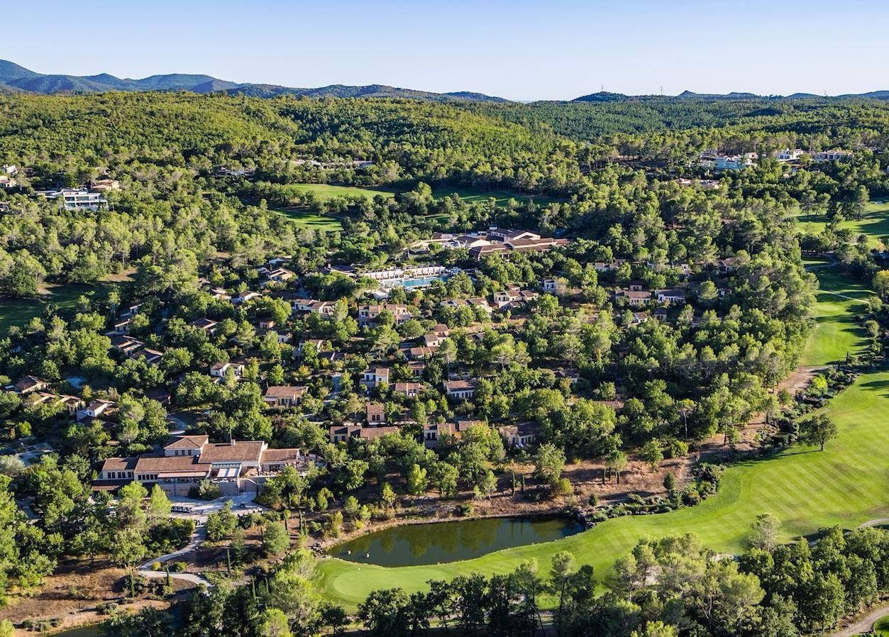Terre Blanche is a luxury Provencal golf resort in France