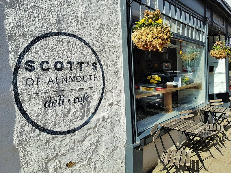 Scott's of Alnmouth - a cafe and deli in the coastal village of Alnmouth, Northumberland