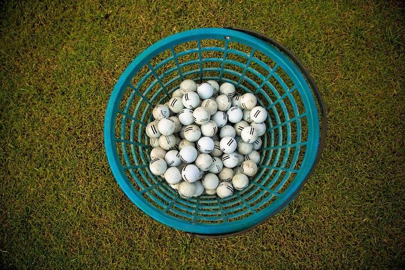driving range golf balls